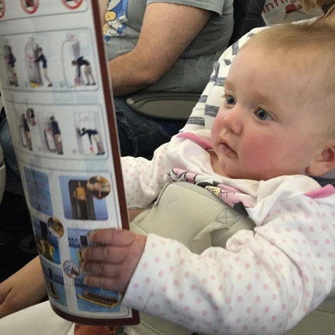 Flying with baby made easier with LapBaby!