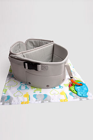 LapBaby hands-free seating aid