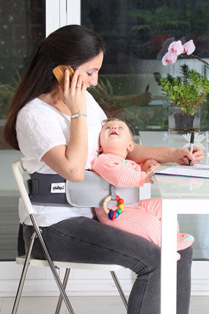 Get more done with LapBaby hands-free seating aid