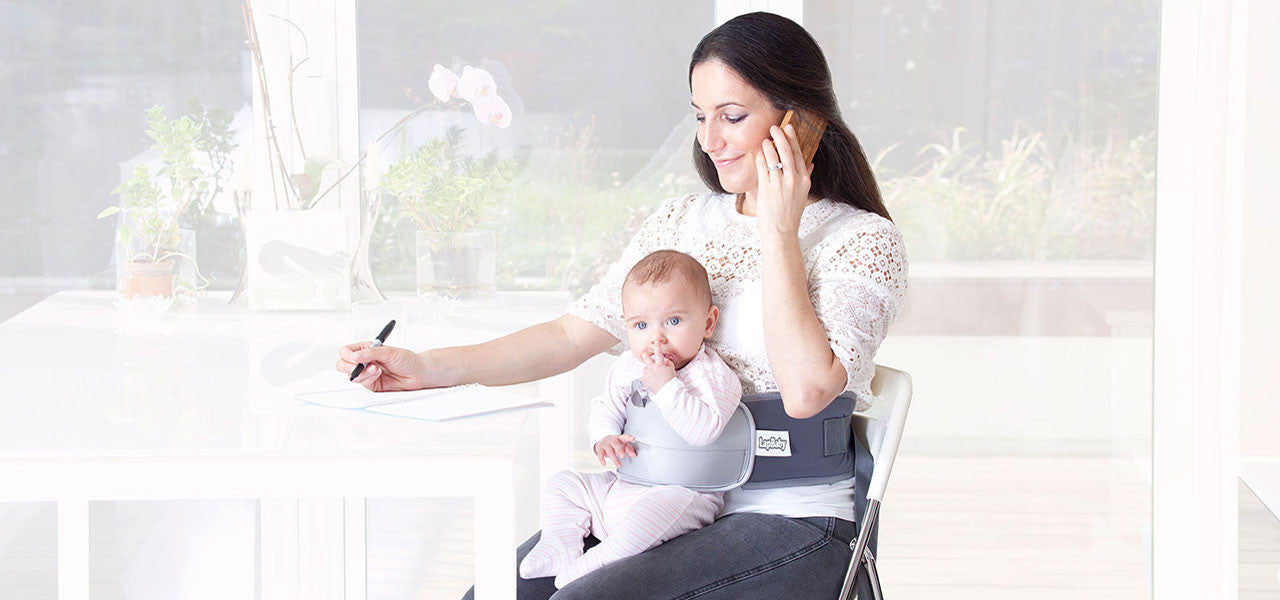 LapBaby makes getting work done with your baby easier.