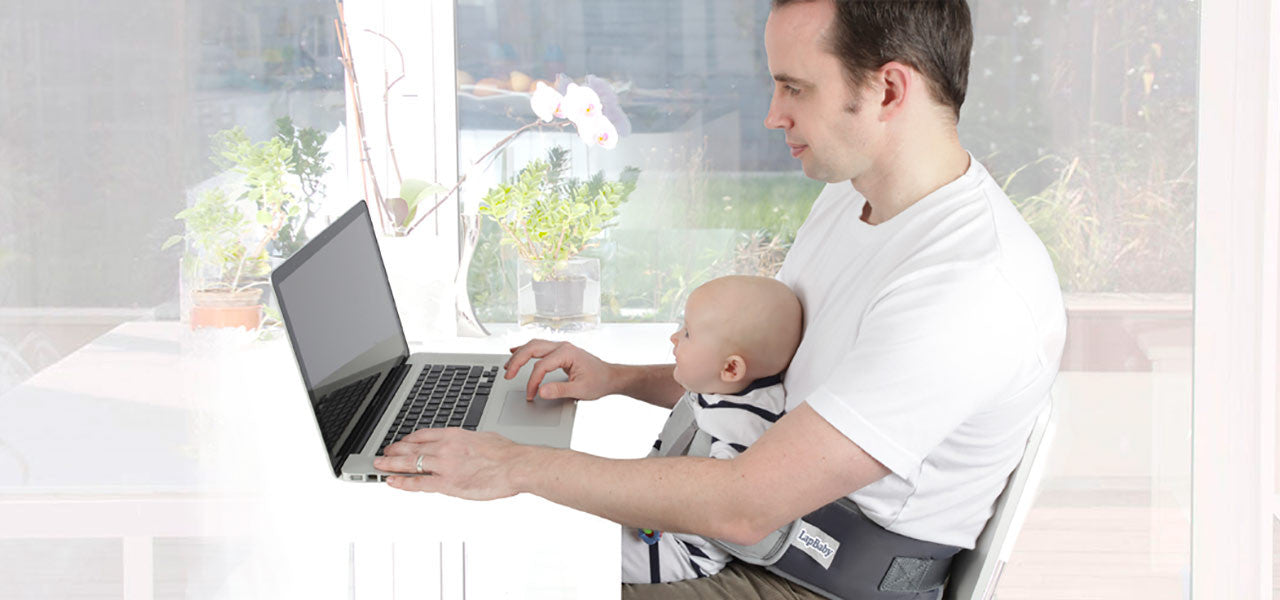 LapBaby is great for Dads too!