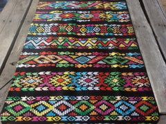 Guatemalan table runner or accent throw