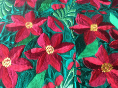 Beautiful, woven Christmas table runner