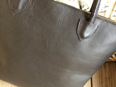 Beautiful top grain leather tote bag/purse