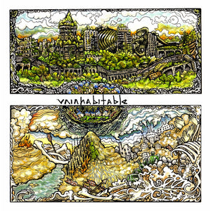 Uninhabitable - S/T LP - Broken Limbs Recordings