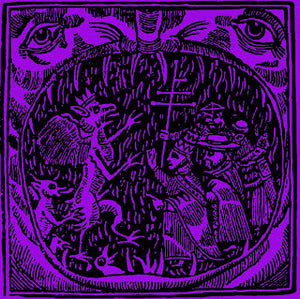 "Crooked Cross S/T 7"" - Broken Limbs Recordings"