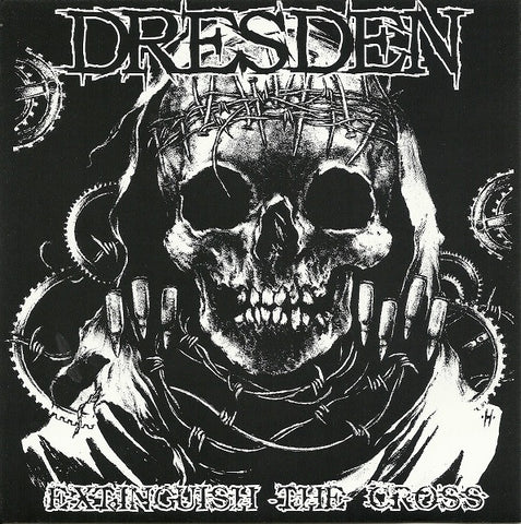 "Dresden - Extinguish The Cross 7"" - Broken Limbs Recordings"
