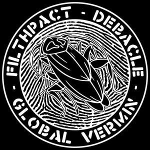 "Filthpact / Debacle - Global Vermin Split 7"" - Broken Limbs Recordings"
