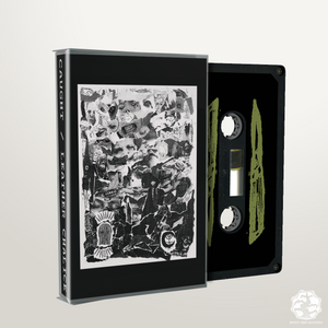 BLR047: Caught / Leather Chalice Split cassette - Broken Limbs Recordings