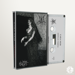 BLR024: Cara Neir / Venowl Split cassette - Broken Limbs Recordings