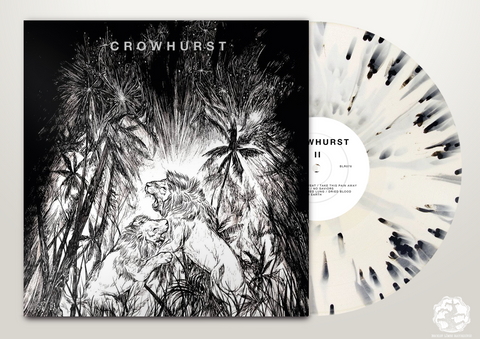 BLR078: Crowhurst - II LP, & cassette (Not Sold Out. Please Read) - Broken Limbs Recordings