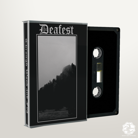 BLR015: Deafest - Through Wood & Fog cassette - Broken Limbs Recordings