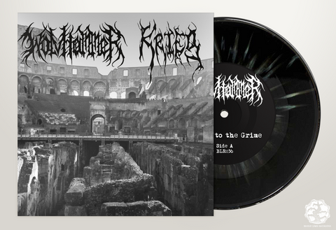 BLR036: Wolvhammer / Krieg Split 7″ - Broken Limbs Recordings