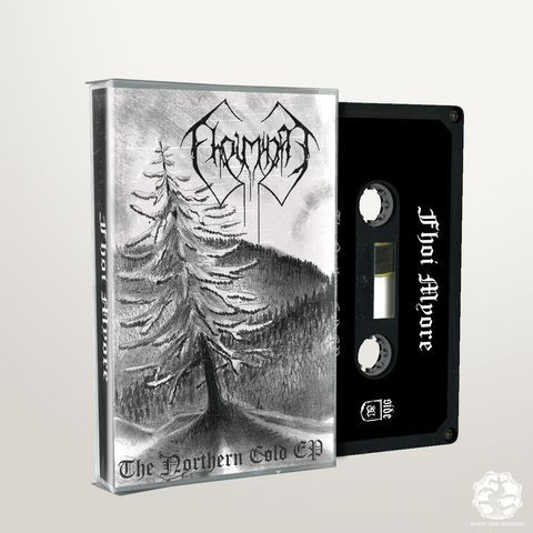 BLR003: Fhoi Myore - The Northern Cold cassette - Broken Limbs Recordings