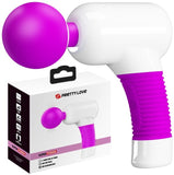 Massager Wand (Purple & White)
