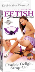 Double Delight Strap-On (Lavender)