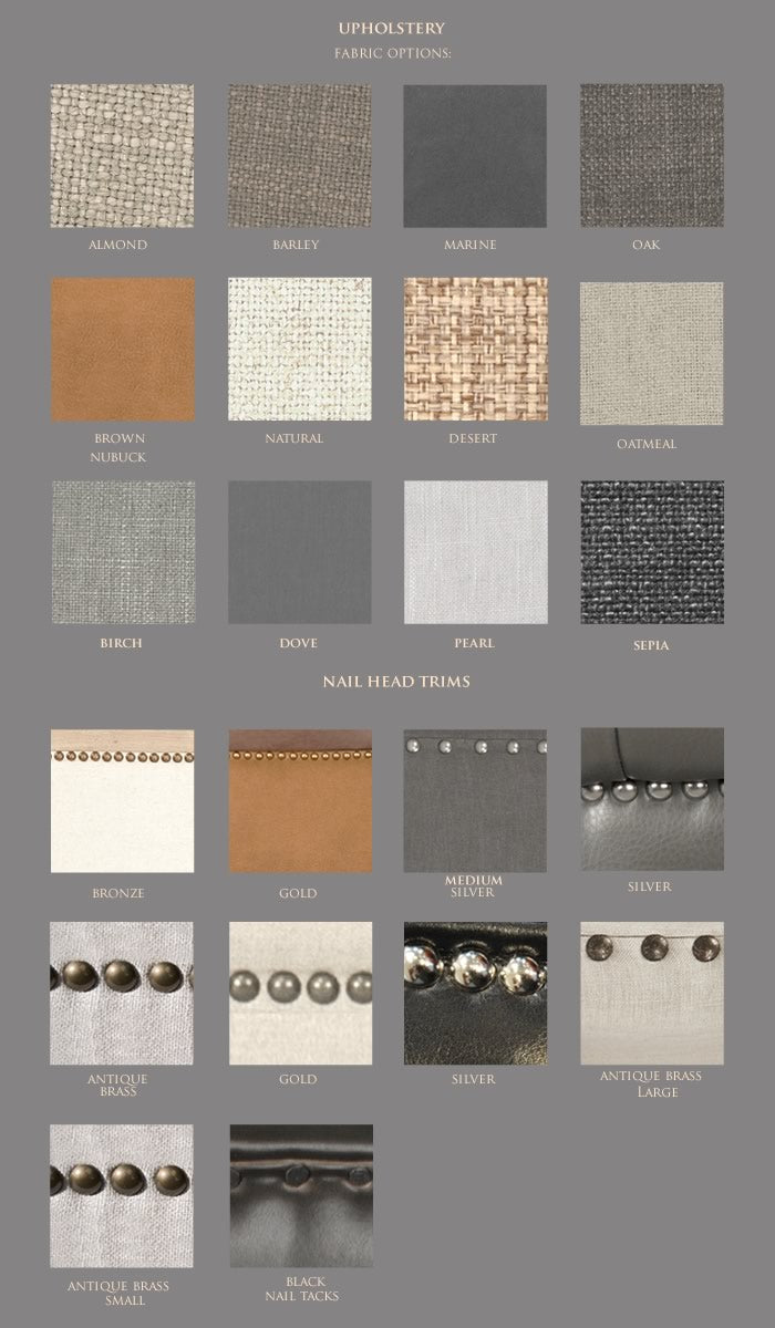 MUSH fabric upholstery color swatches