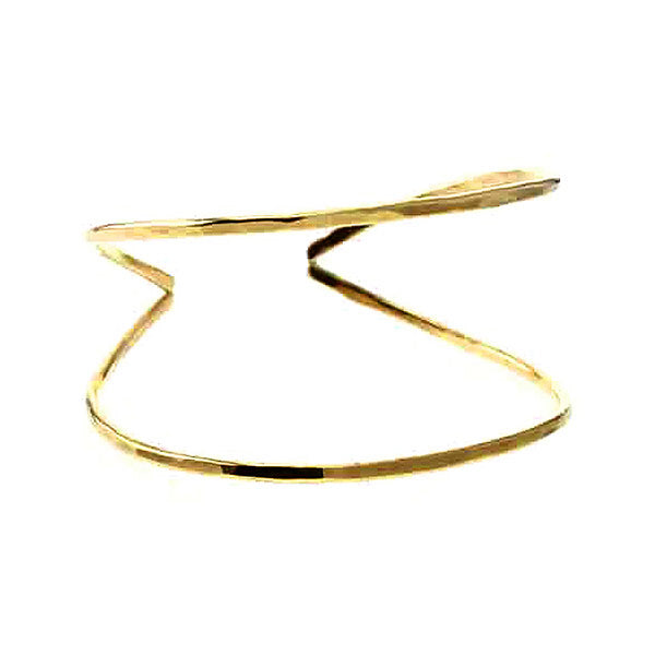 Saffron Cuff Bracelet in 14K Gold Filled Sterling Silver