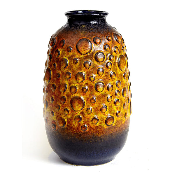 1960's Moon Crater Vase by Jasba West Germany