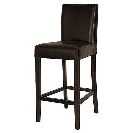 Metropolitan Leather Bar Stool in Havana Bonded Leather