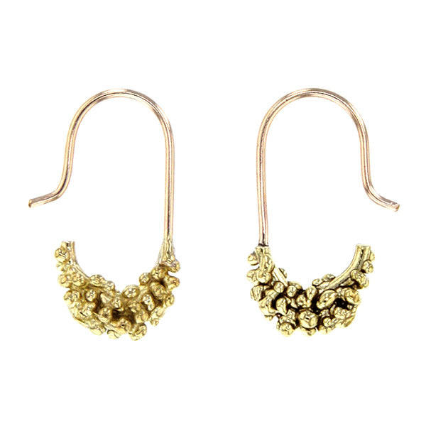 Moondust 14K Gold Fill Brass Earrings