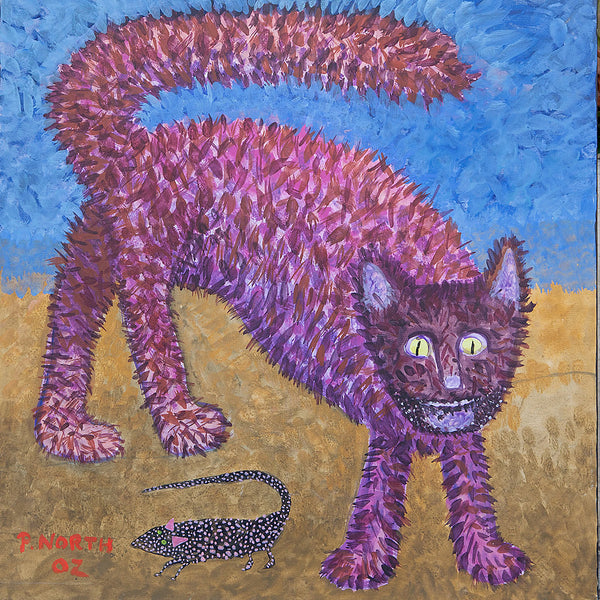Painting of a Cat by Philip North #5