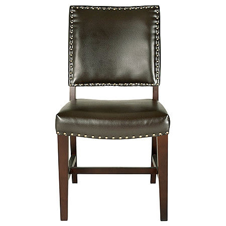 Pablo Leather Dining Room Chair in Havana