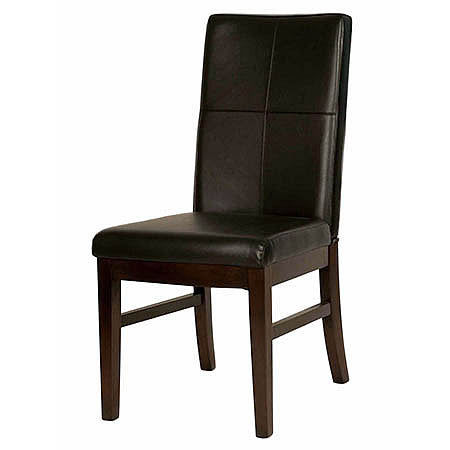 Los Feliz Leather Dining Room Chair in Havana