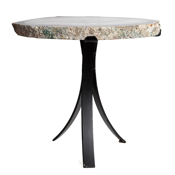 Geode Agate Side Nesting Table