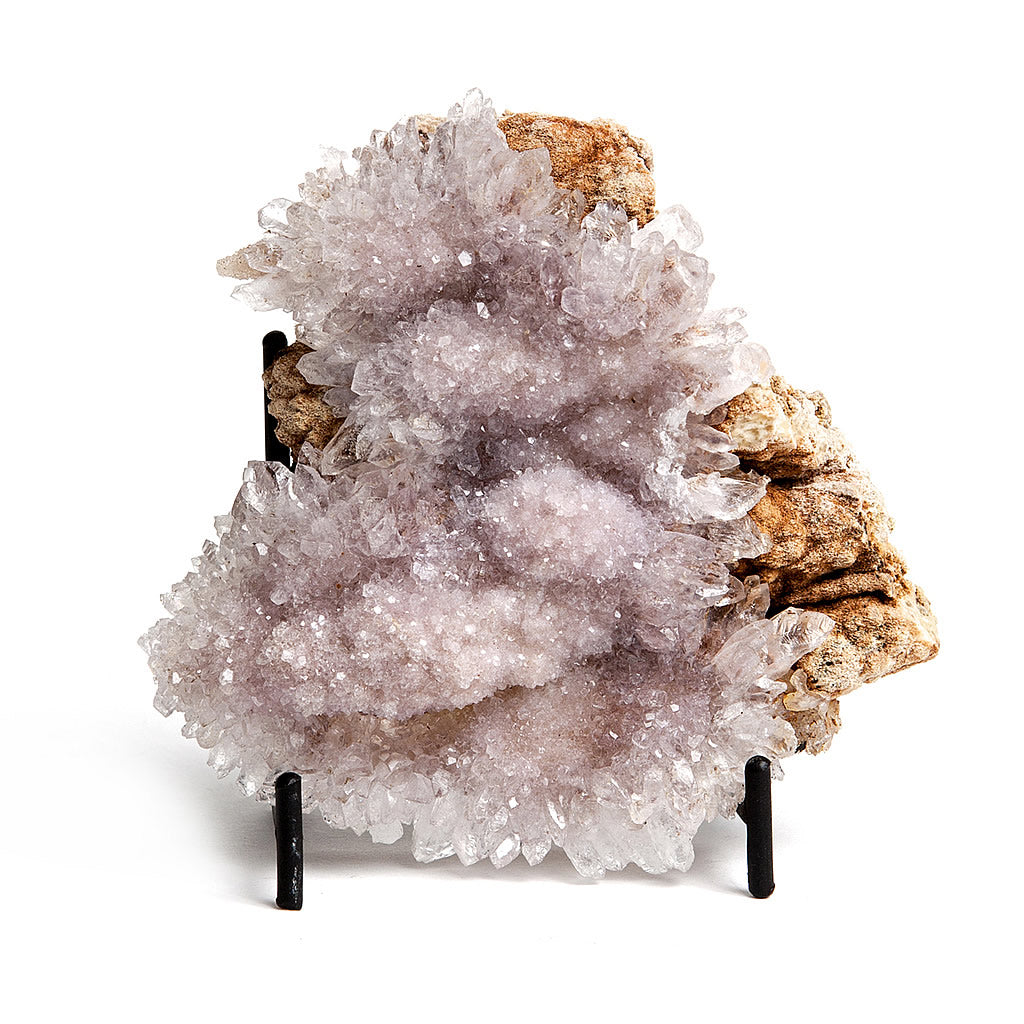 Pink Amethyst Druzy Geode Sculpture Hollywood