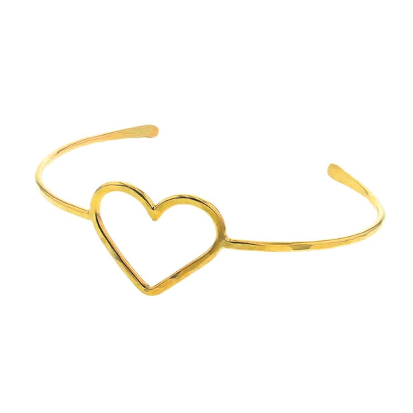 Amor Heart Shaped Bracelet in 14K Gold Fill