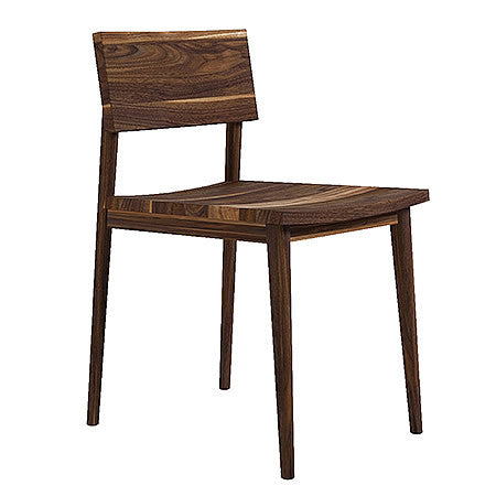 Architekt Chair made from Solid American Black Walnut in Midcentury Modern Style