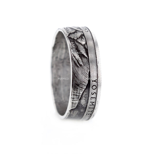 YOSEMITE Artisan Coin Ring made in the US