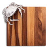 Crab Crustacean Cheese Board From Sterling Silver Pewtar & Oak Wood