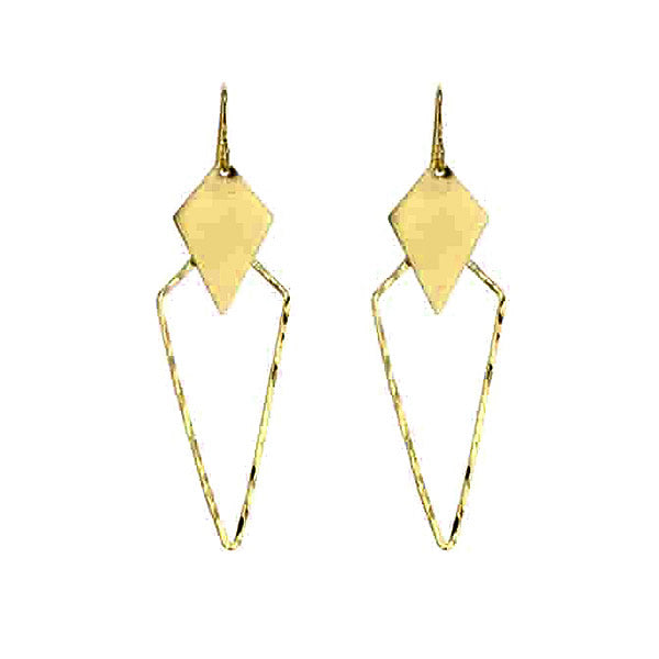 Aria Earrings in 14K Gold Vermail