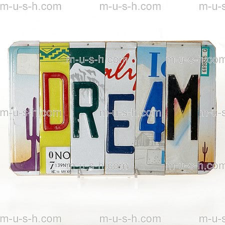 License Plate Signs DREAM v2