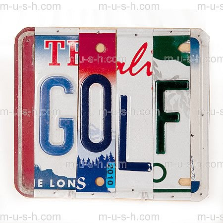 License Plate Signs GOLF