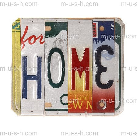 License Plate Signs HOME