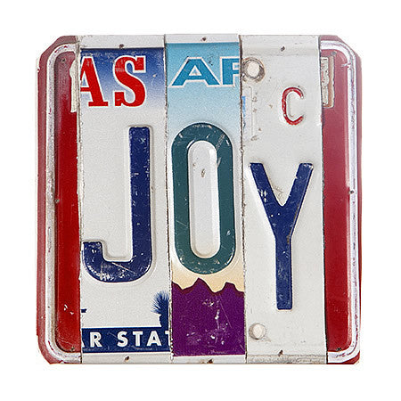 License Plate Signs JOY v2