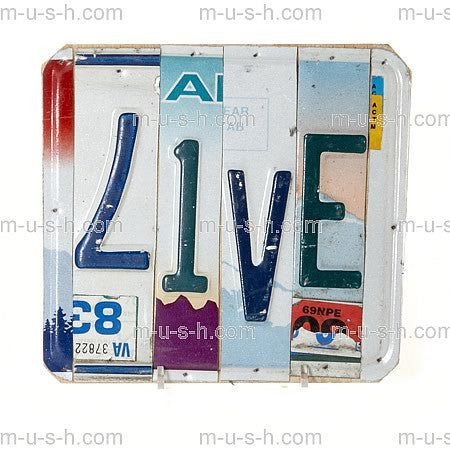License Plate Signs LIVE