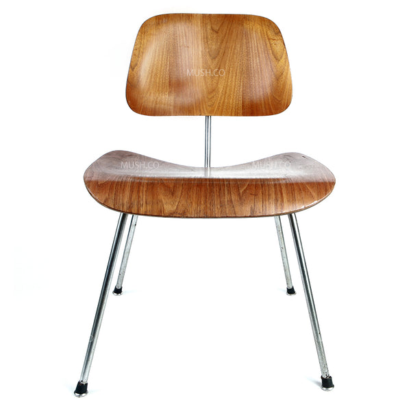 Original Vintage Eames Walnut DCM Chair 1950's for Herman Miller