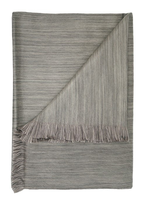 Driftwood Ultra Soft Hypoallergenic Throw made from Baby Alpaca Wool