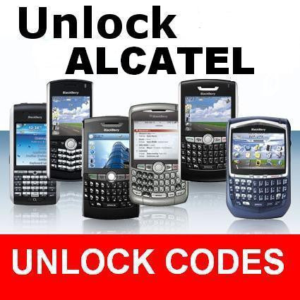 Alcatel NCK Official Network Factory Unlocking Code