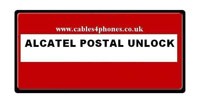 Alcatel Postal Unlocking / Flashing / Debranding Service