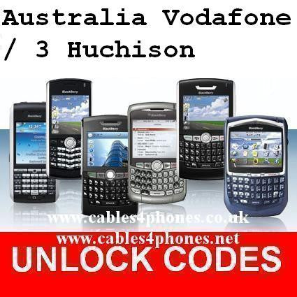 Australia Vodafone / Three 3 Hutchison iPhone 4/4S 5/5C/5S 6/6+/6S/6S+ 7/7+ Unlock