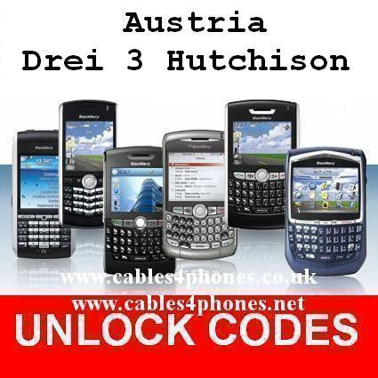 Austria Drei Three 3 Hutchinson iPhone 4/4S 5/5C/5S 6/6+/6S/6S+ 7/7+ Unlock