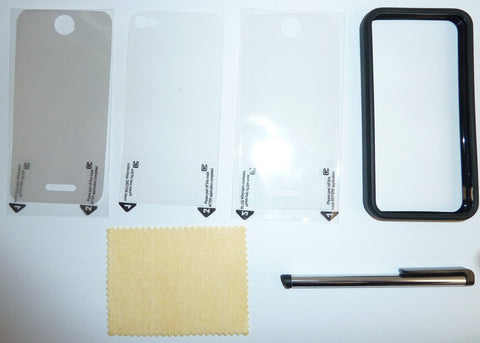 iPhone 4/4S Screen Protector & Pen value Pack