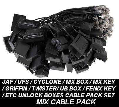 JAF UFS UB MT BOX Nokia Unlock Service Cable Set