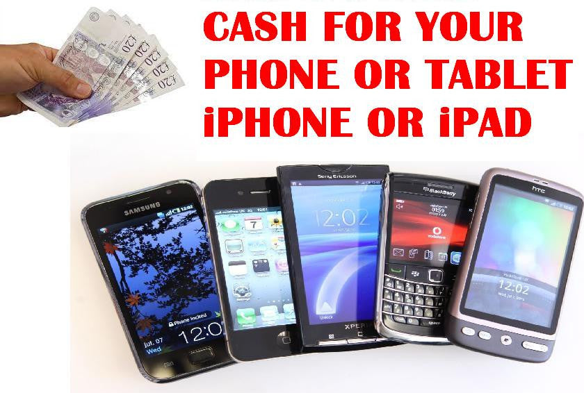 Apple iPhones & iPad & iPod Tablets Sell Bought For Cash