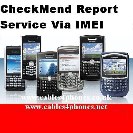 CheckMend Genuine Report Service Via IMEI - IMEI Barred/Blocked - Clean Checking Service EU&USA